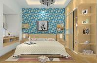 华丽成熟的小户型卧室设计图片