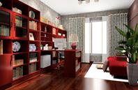 80后喜欢的古典风格办公书房