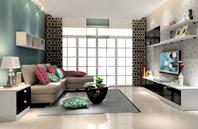 性格魄力十足的现代风格客厅