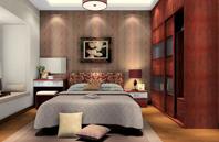 现代风格大卧室设计图