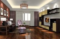 舒适淡雅设计 客厅