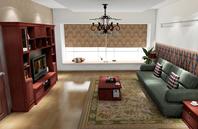 幽幽典雅 借助中式风格元素的混搭装修 客厅