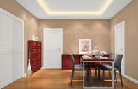 现代欧式风格餐厅效果图-乐维斯系列