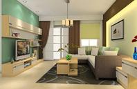 时尚、创意、实用的客厅效果图