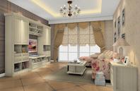 古韵、典雅欧式古典风格客厅