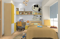 史努比儿童房装修效果图