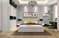 3套现代简约风格卧室效果图