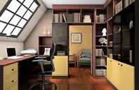 创意书房装修效果图大全2012图片