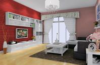 客厅背景墙配色的魅力