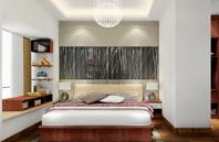异型空间卧室效果图