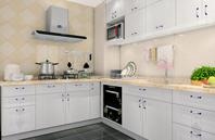 纯正的简约 非常实在厨房空间