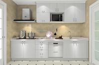 时尚白色厨房装修效果图