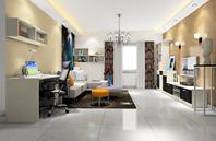 功能齐全的客厅空间