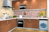 简约温馨厨房装修效果图