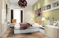 英伦气质 淡雅高品质生活卧室