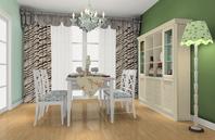 情调优雅的英式风格餐厅家具效果图