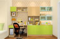 现代清新装修设计空间_书房