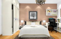 现代化时尚美观空间设计_卧室