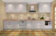 简约整洁的室内厨房家居装饰