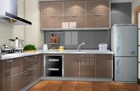 现代敞亮型厨房装修效果图