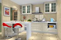 精巧别致厨房装修效果图