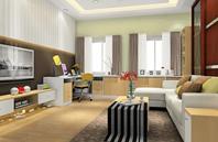 4套现代简约风格客厅效果图