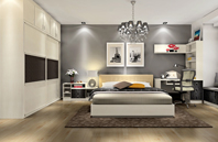 2012下半年流行的卧室装修风格