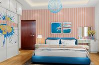感受自然 色彩艳丽卧室设计