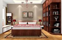 挪威月色的卧房装修效果图