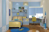 明快光鲜的可爱天真儿童房装修图