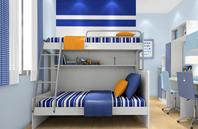 外简内繁的青少年房家具