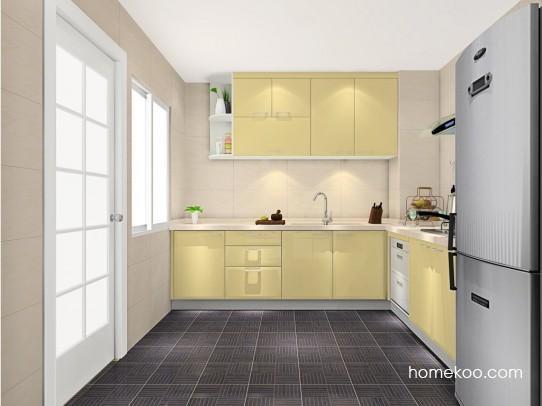 低碳环保厨房效果图