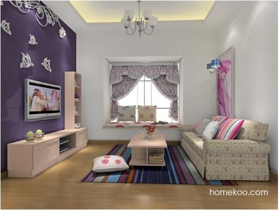 小户型客厅效果图 完美的搭配