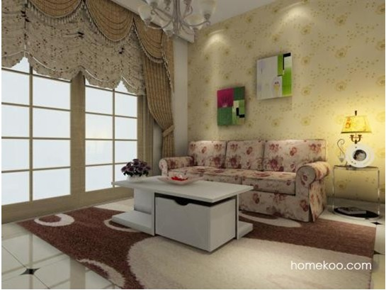 客厅颜色搭配效果图
