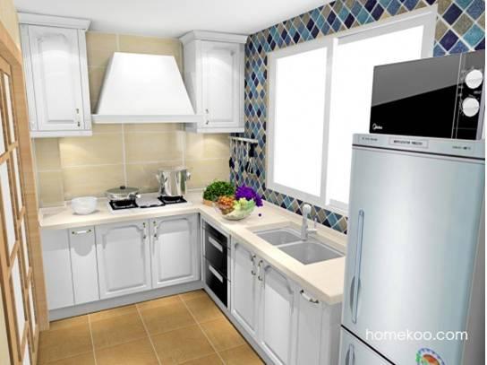 精美厨房装修效果图4款