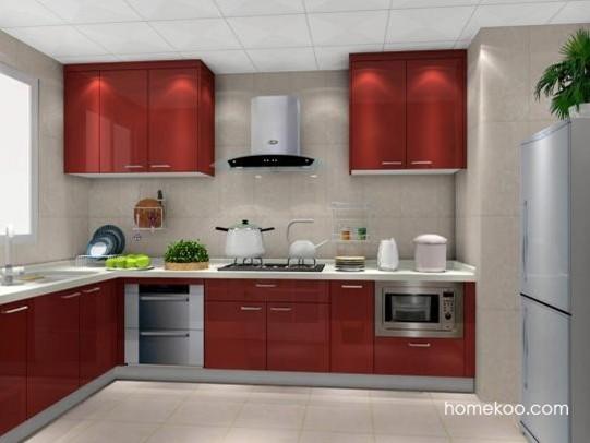 多样的厨房 满分的效果