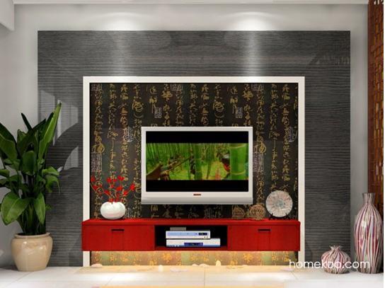 家装电视背景墙 家人的选择
