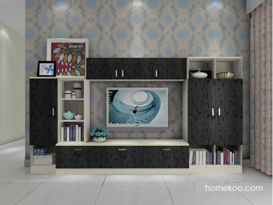 电视机背景墙图片 不同位置的风景