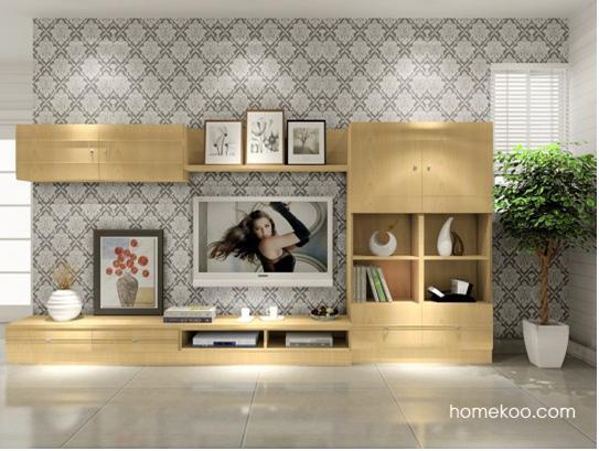 客厅电视背景墙图片 点缀温暖客厅