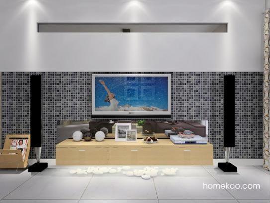 小电视背景墙效果图片