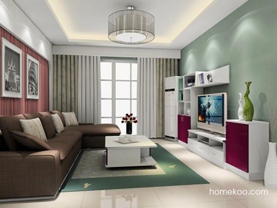 客厅现代家装效果图