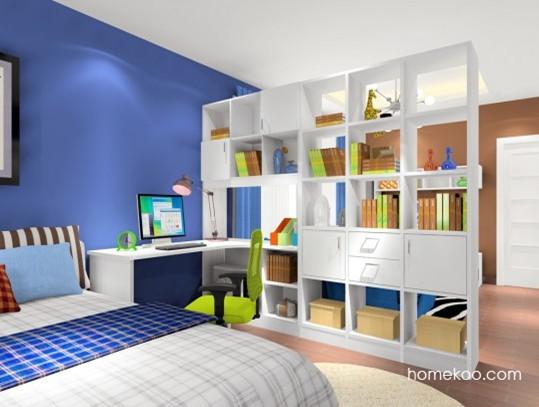 小户型一分为二 客厅卧室隔断图片