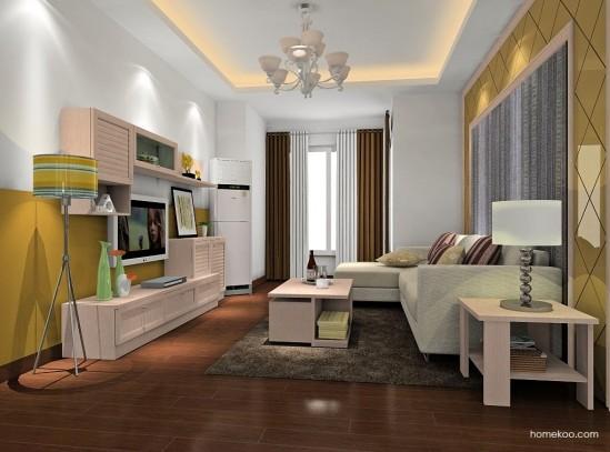 精致的奢华 2013欧式风格客厅