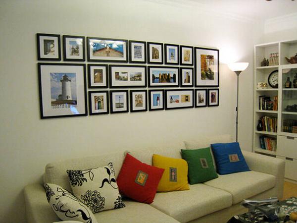 照片墙的设计和摆放技巧分享  照片墙摆放设计方法