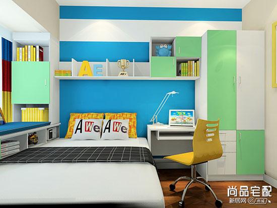 儿童房整体设计原则 儿童房效果图