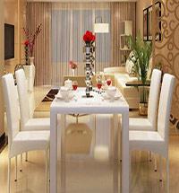 餐厅人造大理石餐桌图片大全