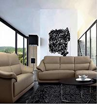 客厅真皮沙发图片 客厅真皮沙发效果图