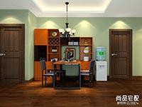 餐厅实木餐桌图片大全  餐厅装修效果图
