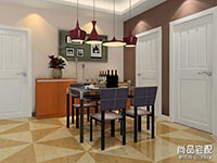 餐厅中式红木餐桌图片大全