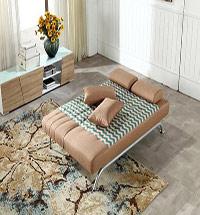 简易折叠沙发床图片2016